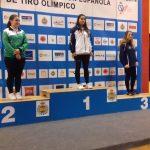 Lua Vidal oro pistola deportivajuvenil femenino
